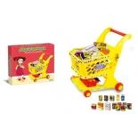 игрушки для девочек Магазинчик Наша Игрушка Тележка с продуктами (ZYB-B1505)
