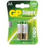батарейка GP Super Alkaline 15A LR6 AA (2 штуки)