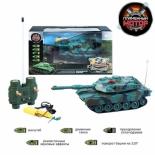радиоуправляемая модель Пламенный мотор Танк Abrams М1А2 (США) 1:32