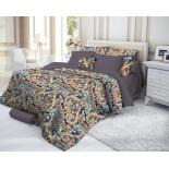 комплект постельного белья Verossa евро, cатин, нав. 50х70*2 и 70х70*2, Deria