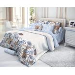комплект постельного белья Verossa евро, cатин, нав. 50х70*2 и 70х70*2, Ivy