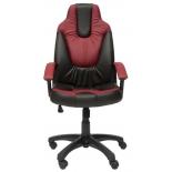 компьютерное кресло TetChair Нео 2, черное/бордо