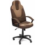 компьютерное кресло TetChair Нео 3, коричневое/бежевое
