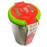 контейнер для хранения STATUS VAC-RD-15 для вакуумного упаковщика, зеленый