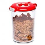 контейнер для хранения STATUS VAC-RD-15 для вакуумного упаковщика, красный