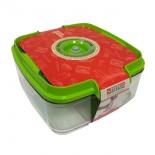 контейнер для хранения STATUS VAC-SQ-20 для вакуумного упаковщика, зеленый