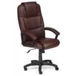 кресло офисное TetChair Бергамо, коричневое