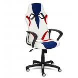 компьютерное кресло Tetchair  RUNNER 36-01/tw-10/tw-08, белый/синий/красный