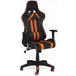 игровое компьютерное кресло TetChair iCar, черное/оранжевое