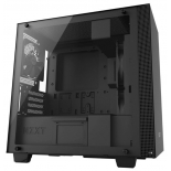 корпус компьютерный NZXT H400 CA-H400B-B1, черный