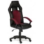 компьютерное кресло Tetchair DRIVER 36-6/13, черный/бордо