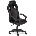 компьютерное кресло Tetchair DRIVER 36-6/12, черный/серый