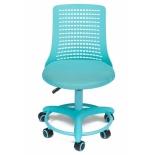 компьютерное кресло TetChair Kiddy (детское), бирюзовое