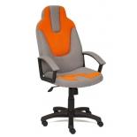 компьютерное кресло TetChair NEO3 ткань С27/С23, серый/оранжевый
