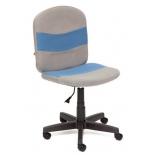 кресло офисное TetChair STEP С27/С24, серый/синий