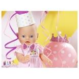 кукла Zapf Creation Baby Born Нарядная с тортом, 43 см, 825-129 (интерактивная)
