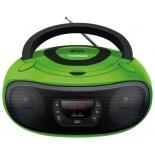 Магнитола Hyundai H-PCD260, зеленая/черная, купить за 2 730руб.