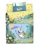 комплект постельного белья Disney ранфорс, 1,5- спальный, Холодное сердце.Олаф