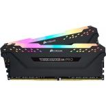 модуль памяти DDR4 Corsair CMW16GX4M2C3000C15 3000 MHz, 2x8 Gb