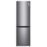 холодильник LG GA-B419SLJL, серебристый