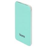 аккумулятор универсальный мобильный Buro RCL-5000-GW 5000mAh, зеленый/белый