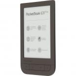электронная книга PocketBook 631 Plus, темно-коричневая