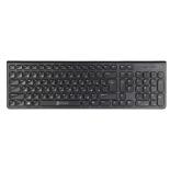 клавиатура Oklick 590M slim Multimedia черная