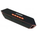 Портативная акустика Hyundai H-PAC160, черная/оранжевая, купить за 960руб.