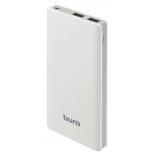 аккумулятор универсальный мобильный Buro RCL-10000-WG 10000mAh, белый/серый