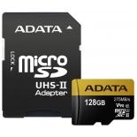 карта памяти A-DATA 128GB Premier ONE microSDXC Class 10, (SD адаптер)