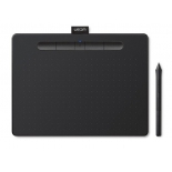 Планшет для рисования Wacom Intuos S, черный, купить за 8 365руб.