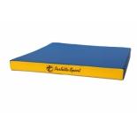 мат гимнастический Perfetto Sport № 2, сине/жёлтый