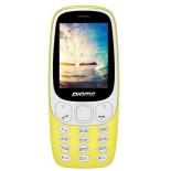 сотовый телефон Digma N331 2G Linx, желтый