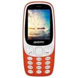 сотовый телефон Digma N331 2G Linx, красный