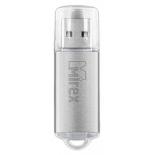 usb-флешка Mirex Unit, 16GB, серебристая