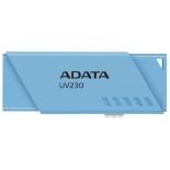 Usb-флешка A-DATA UV230, 32GB синий, купить за 755руб.