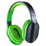 гарнитура проводная для телефона Perfeo Dual, черная/зеленая