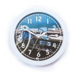 часы интерьерные Вега Белый руль, пластик (настенные)