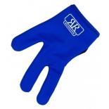 перчатка для бильярда Longoni RenzLine Bicolor синяя