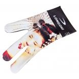 перчатка для бильярда Longoni Fancy Hot Lips 1 (на липучке)