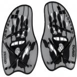 лопатки для плавания Arena VORTEX EVOLUTION HAND PADDLE Silver/Black (95232 15, L)