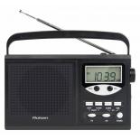 Радиоприемник Rolsen Радиобудильник RBM-216, черный