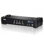 KVM-переключатель ATEN CS1764A-AT-G (DVI, USB, 2x miniJack)