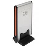 корпус для жесткого диска AgeStar SUB2A1 (2.5'', miniUSB2.0b), серебристый