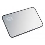 корпус для жесткого диска AgeStar 3UB2A8-A (2.5'', SATA - microUSB3.0b), чёрный
