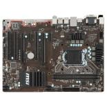 материнская плата MSI H110 PC MATE (ATX, LGA1151, Intel H110, 2x DDR4)