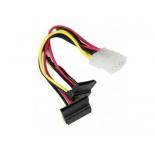 кабель (шнур) Supermicro CBL-0082L, Molex(M) - 2xSATA, 15 см