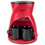 кофеварка Scarlett SC-CM33001, красная