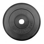 диск для штанги ProfiGym, d26 мм (10,0 кг) черный