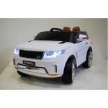 электромобиль RiverToys Range Rover Sport E999KX, белый